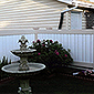 vinyl privacy fence picket accent